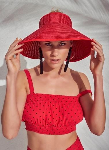Morhipo Beach Şapka Kırmızı
